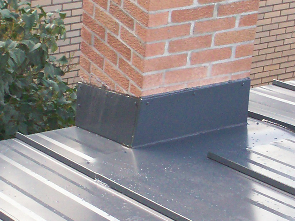 Chimney Counter Flashing Shows Quality San Mateo County